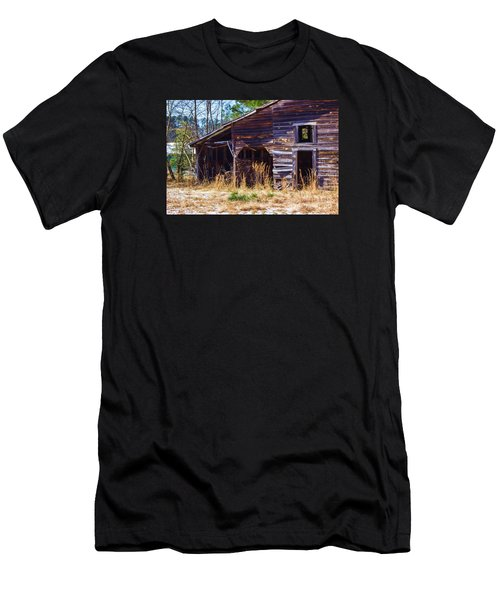 Coming Apart With Character Barn Men's T-Shirt (Athletic Fit)