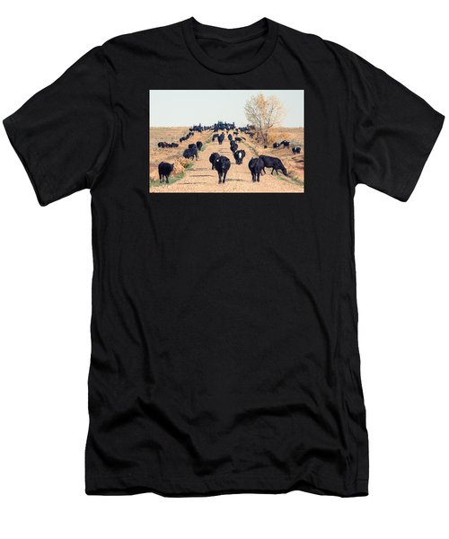 Coming Down The Road Men's T-Shirt (Athletic Fit)