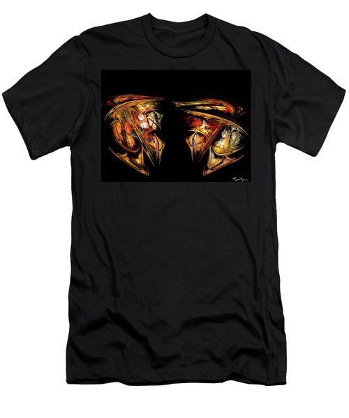 Coming Face To Face Men's T-Shirt (Athletic Fit)