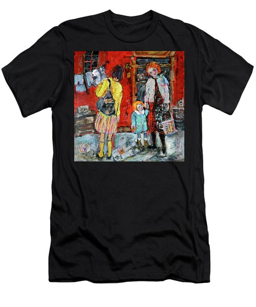 Coming For You Men's T-Shirt (Slim Fit) by Sharon Furner