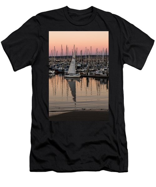 Coming Into The Harbor Men's T-Shirt (Athletic Fit)