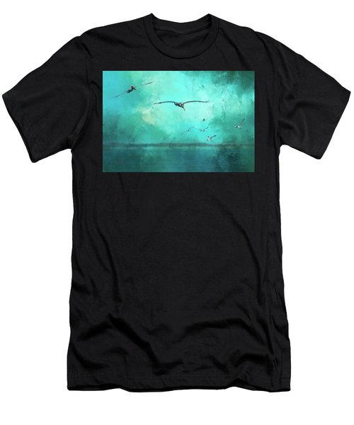Coming Into View Men's T-Shirt (Athletic Fit)