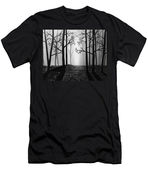 Coming Light Men's T-Shirt (Athletic Fit)