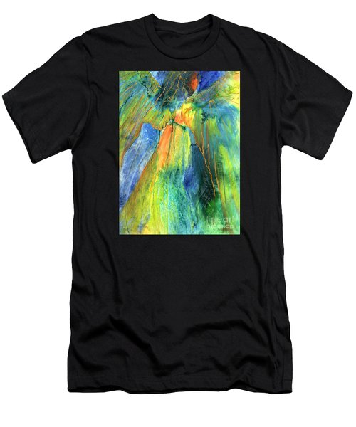 Men's T-Shirt (Athletic Fit) featuring the painting Coming Lord by Nancy Cupp