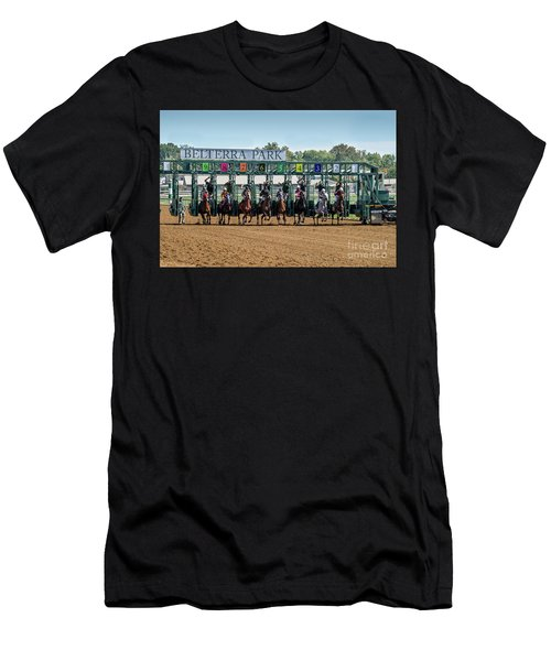 Coming Out Of The Gate Men's T-Shirt (Athletic Fit)