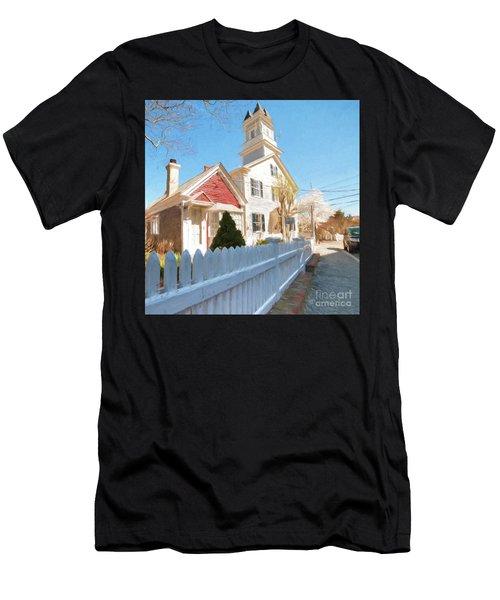 Commercial St. #3 Men's T-Shirt (Athletic Fit)