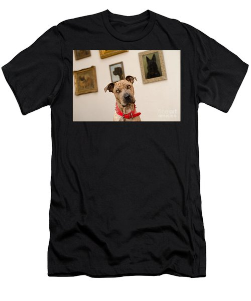 Men's T-Shirt (Athletic Fit) featuring the photograph Commodor by Irina ArchAngelSkaya