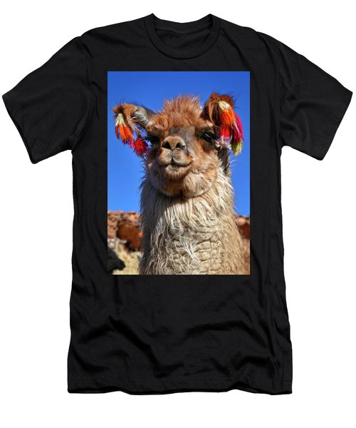 Men's T-Shirt (Slim Fit) featuring the photograph Como Se Llama by Skip Hunt