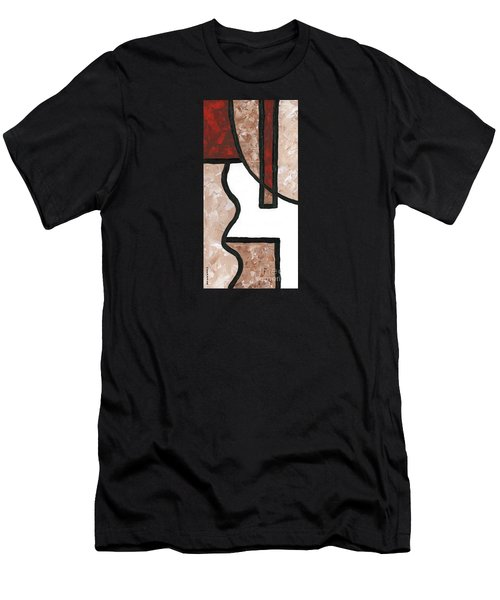 Compartments 1 Men's T-Shirt (Athletic Fit)