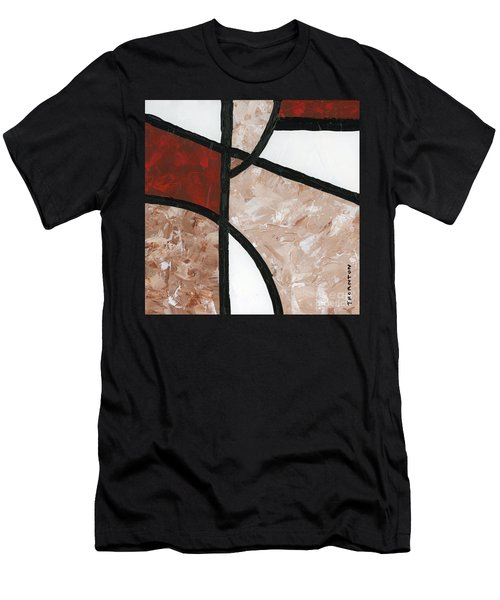 Compartments Panel 6 Men's T-Shirt (Athletic Fit)
