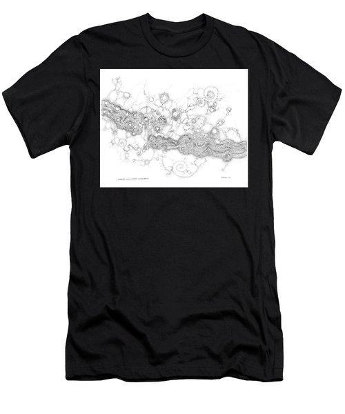 Complex Fluid  Men's T-Shirt (Athletic Fit)