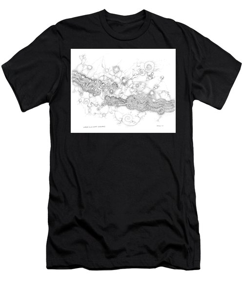 Complex Fluid  Men's T-Shirt (Athletic Fit)