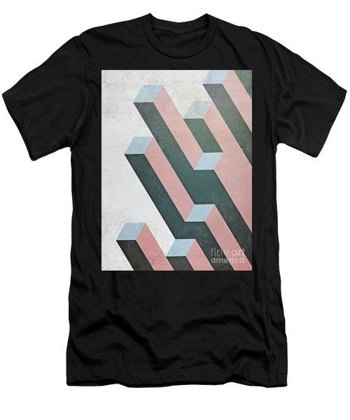 Complex Geometry Men's T-Shirt (Athletic Fit)