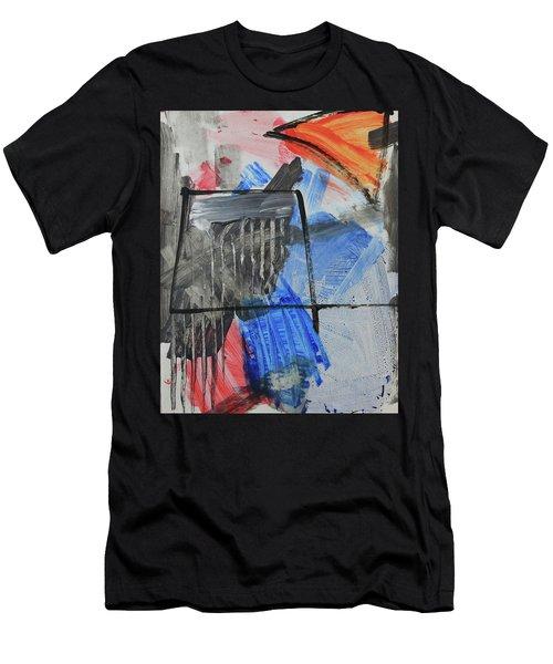 Composition 20188 Diptych Left Panel Men's T-Shirt (Athletic Fit)