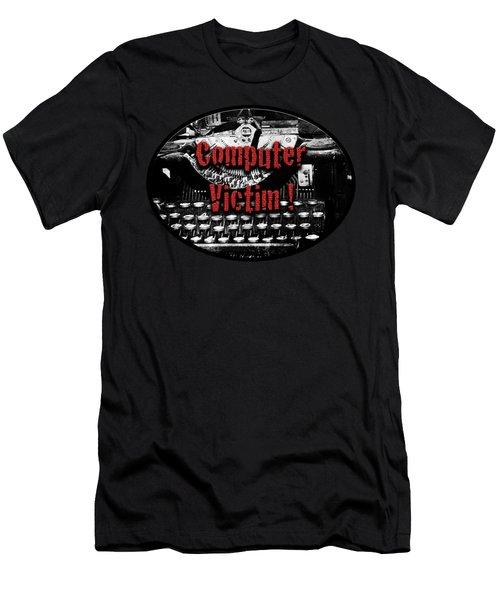 Computer Victim Men's T-Shirt (Athletic Fit)