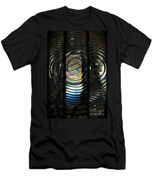 Concentric Glass Prisms - Water Color Men's T-Shirt (Athletic Fit)