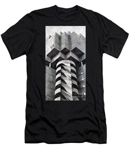 Concrete Geometry Men's T-Shirt (Athletic Fit)