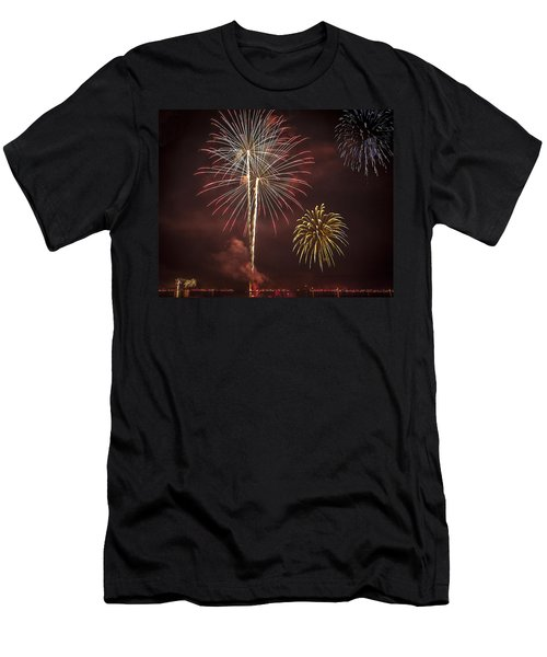Conesus Ring Of Fire 2015 Men's T-Shirt (Athletic Fit)