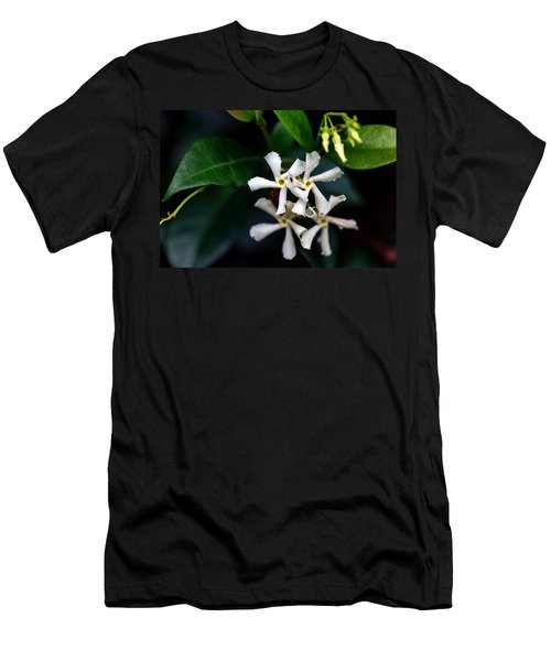 Confederate Jasmine Men's T-Shirt (Slim Fit) by Sennie Pierson