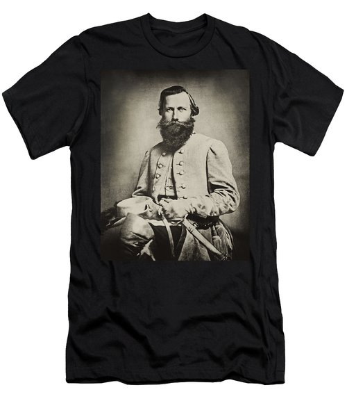 Confederate Jeb Stuart Men's T-Shirt (Slim Fit) by Paul W Faust -  Impressions of Light