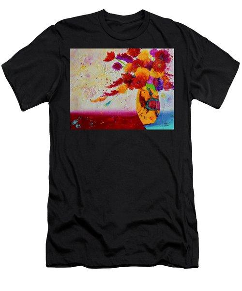Confetti Men's T-Shirt (Athletic Fit)