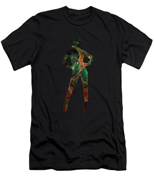 Confident Men's T-Shirt (Athletic Fit)