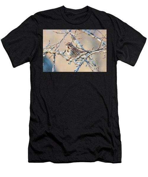 Confident Sparrow Men's T-Shirt (Athletic Fit)