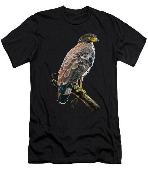 Congo Serpent Eagle Men's T-Shirt (Athletic Fit)