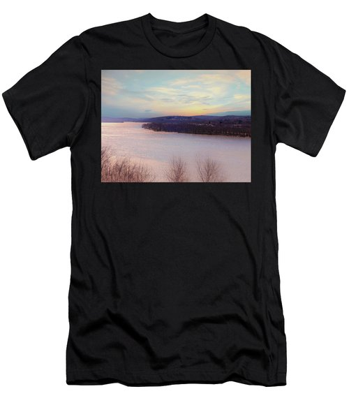 Connecticut River View From Gillette Castle. Men's T-Shirt (Athletic Fit)