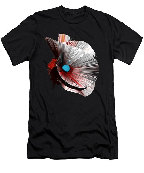 Consciousness Of The Inanimate Painting As A Spherical Depth Map. B Men's T-Shirt (Athletic Fit)