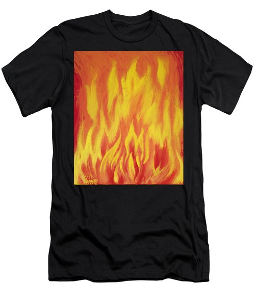 Consuming Fire Men's T-Shirt (Athletic Fit)