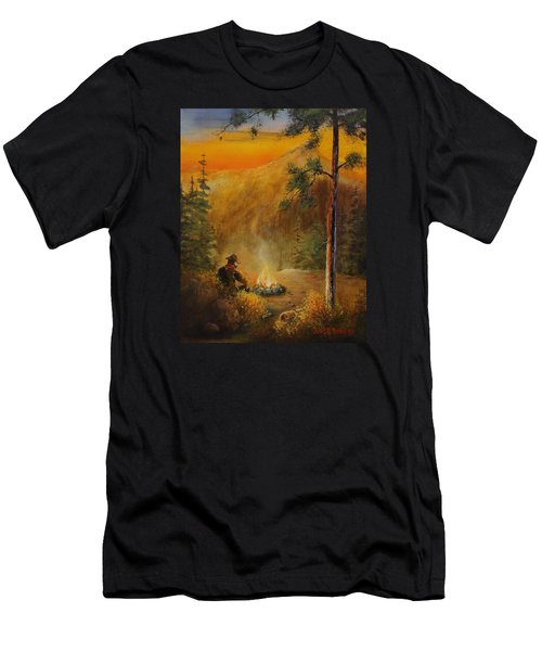 Contemplating The Journey Men's T-Shirt (Athletic Fit)