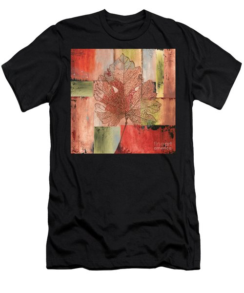 Contemporary Grape Leaf Men's T-Shirt (Athletic Fit)