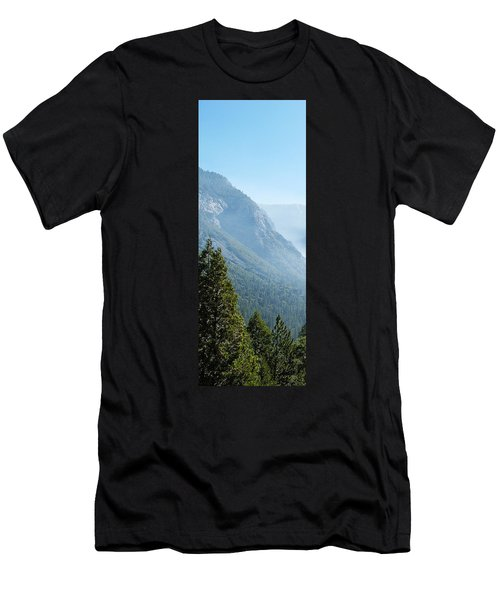 1 Of 4 Controlled Burn Of Yosemite Section Men's T-Shirt (Athletic Fit)