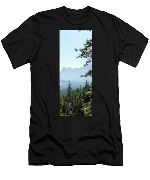 3 Of 4 Controlled Burn Of Yosemite Section Men's T-Shirt (Athletic Fit)