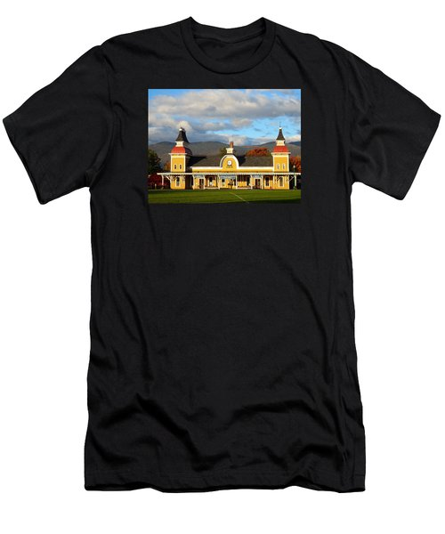 Conway Scenic Railroad 1 Men's T-Shirt (Athletic Fit)
