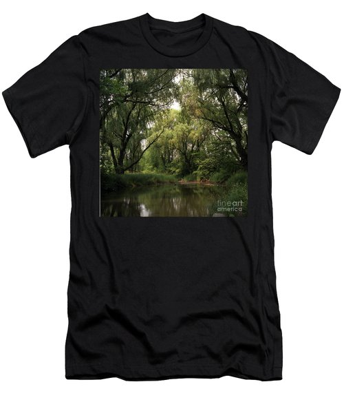 Cook County Forest Preserve No 6 Men's T-Shirt (Slim Fit) by Kathy McClure