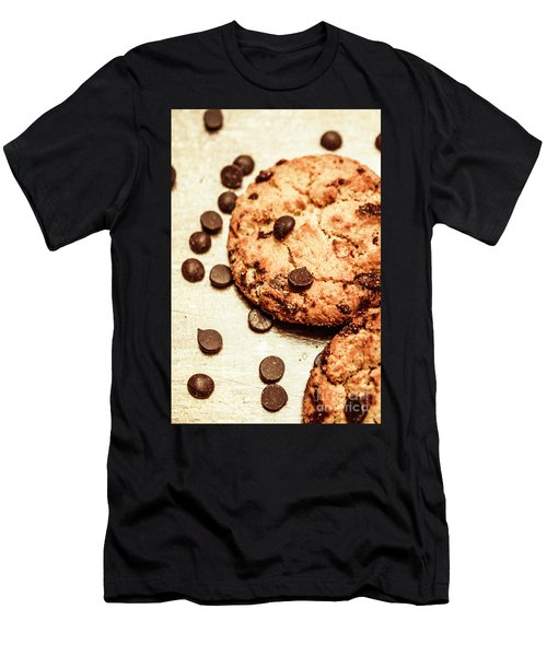 Cookies With Chocolare Chips Men's T-Shirt (Athletic Fit)