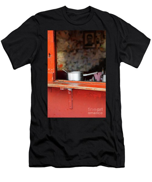 Cooking Pot Men's T-Shirt (Athletic Fit)
