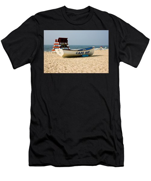 Cool Cape May Beach Men's T-Shirt (Athletic Fit)
