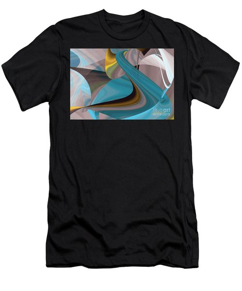 Cool Curvelicious Men's T-Shirt (Athletic Fit)