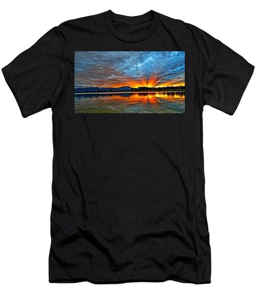 Cool Nightfall Men's T-Shirt (Athletic Fit)
