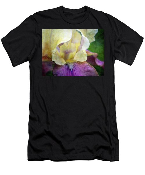 Cool Toned Purple Iris 0319 Idp_3 Men's T-Shirt (Athletic Fit)