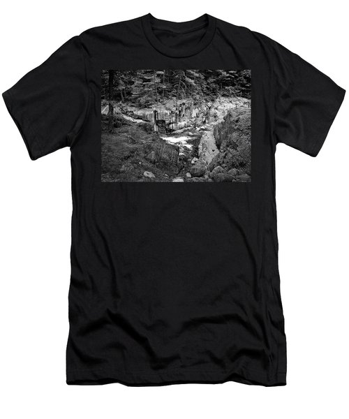 Men's T-Shirt (Slim Fit) featuring the photograph Coos Canyon 1553 by Guy Whiteley