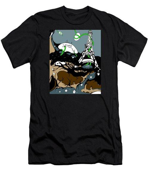 Cop21 Men's T-Shirt (Athletic Fit)