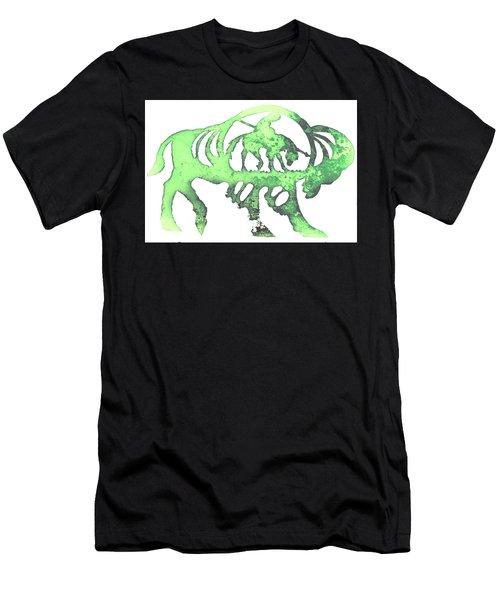 Copper Buffalo Men's T-Shirt (Athletic Fit)