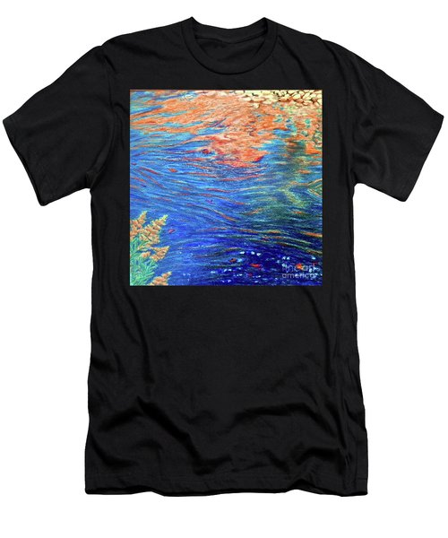 Copper Flow Men's T-Shirt (Athletic Fit)