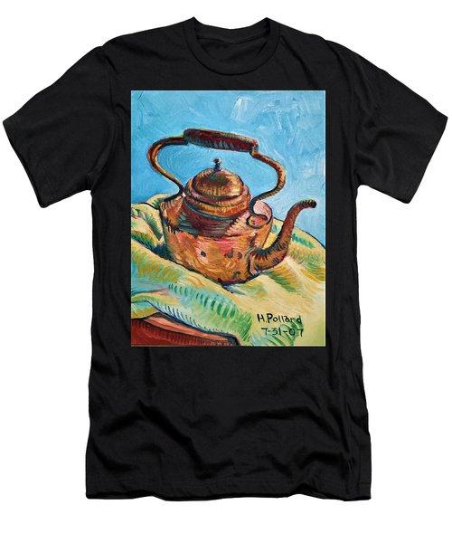 Copper Teapot Men's T-Shirt (Athletic Fit)