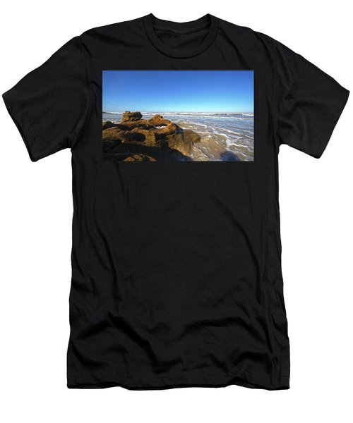 Coquina Beach Men's T-Shirt (Athletic Fit)