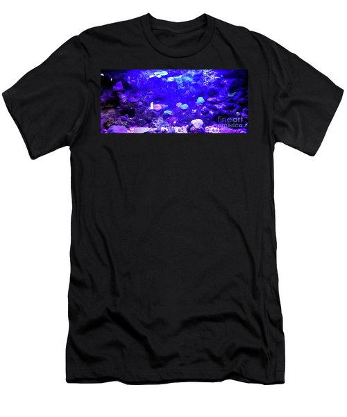 Men's T-Shirt (Athletic Fit) featuring the digital art Coral Art 2 by Francesca Mackenney